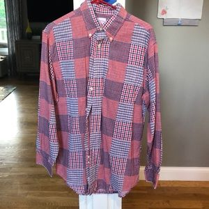 Brooks Brothers multi check shirt